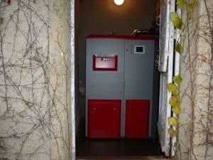 Installation chaudière à granulé de bois près de Belleville en Beaujolais