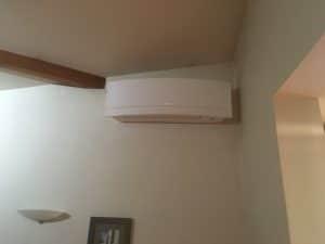 Installation d'une climatisation dans une villa de Belleville en Beaujolais