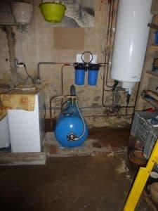 Installation système purificateur eau