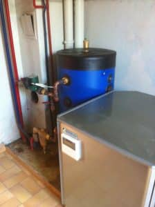 Installation d'une pompe à chaleur aérothermique