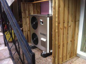 Installation pompe à chaleur SDEEC