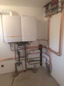 chaudiere condensation + réseau